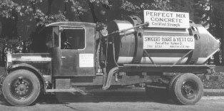 Antique Photo Of a Company Vehicle